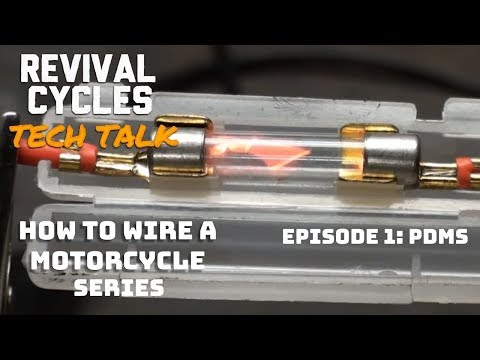 How to Wire a Motorcycle Series, Ep. 1: PDMs What are they, what do they do? // Revival Tech Talk