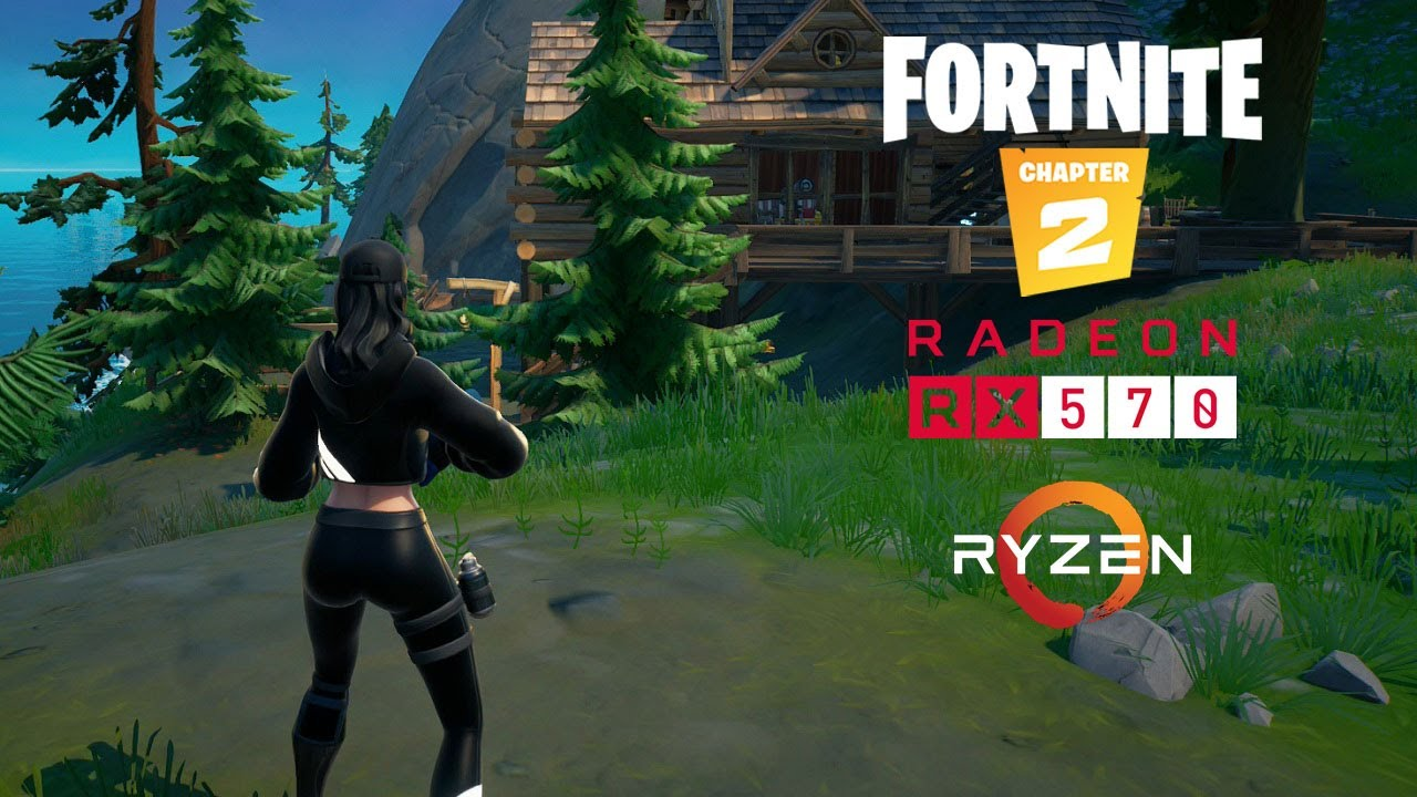 Fortnite: Chapter 2 - Season 7 - RX 570 - Ryzen 5 2600 - Low/Medium/High/Epic