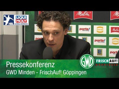 09.02.2020 GWD Minden - FrischAuf! Göppingen // Pressekonferenz