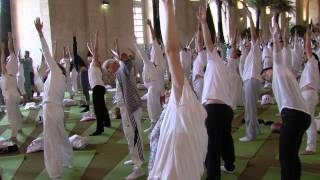 Une séance de yoga 100% solidaire