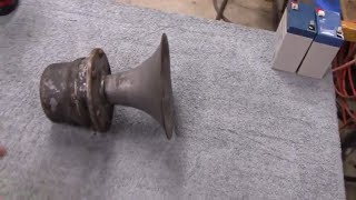 ANTIQUE CAR HORN RESTORATION (part 1)
