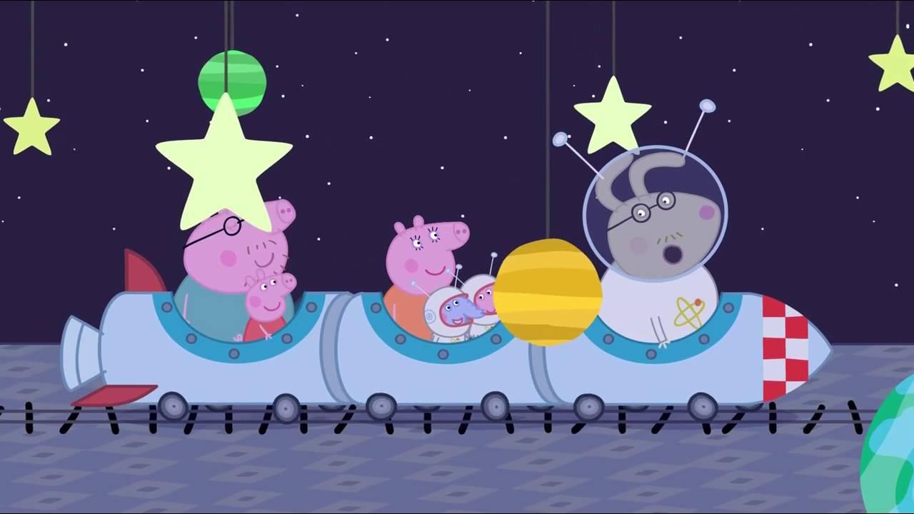 Peppa Pig - A Trip To the Moon (21 episode / 3 season) [HD]