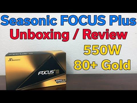 Seasonic FOCUS Plus GOLD - 550 Watt 80+ Power Supply - Review