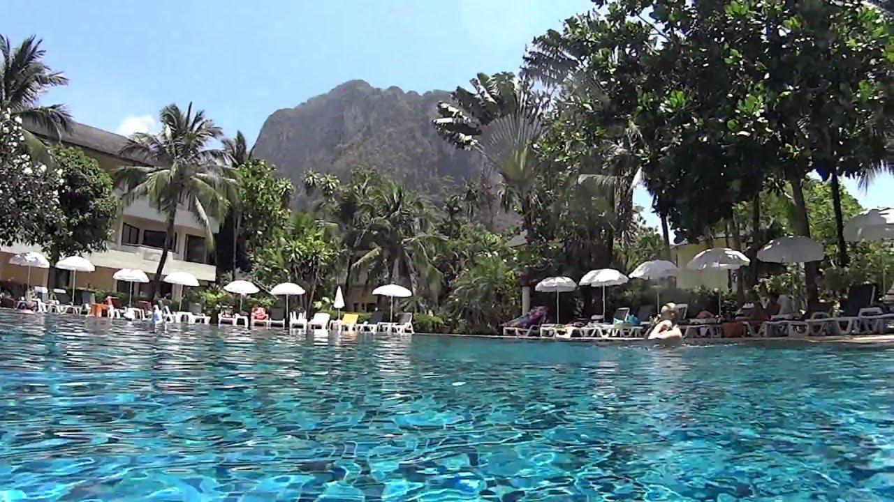 Golden Beach Resort Krabi Thailand Pt 2