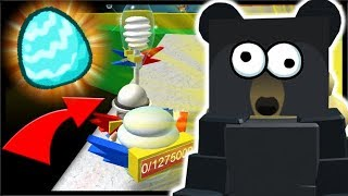 NEW *FREE* DIAMOND EGG SECRET LOCATION & GIFTED BABY BEE!! | Roblox Bee Swarm Simulator
