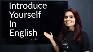 How to Introduce Yourself? - Spęak Fluently in English in 30 days - Day 15