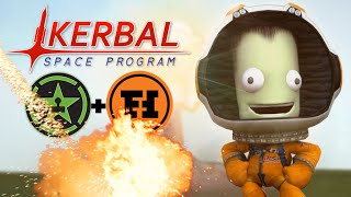 SPACE RACE - Kerbal Space Program Gameplay