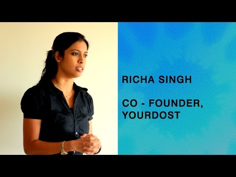 In conversation with Richa Singh, Co-Founder, YourDost
