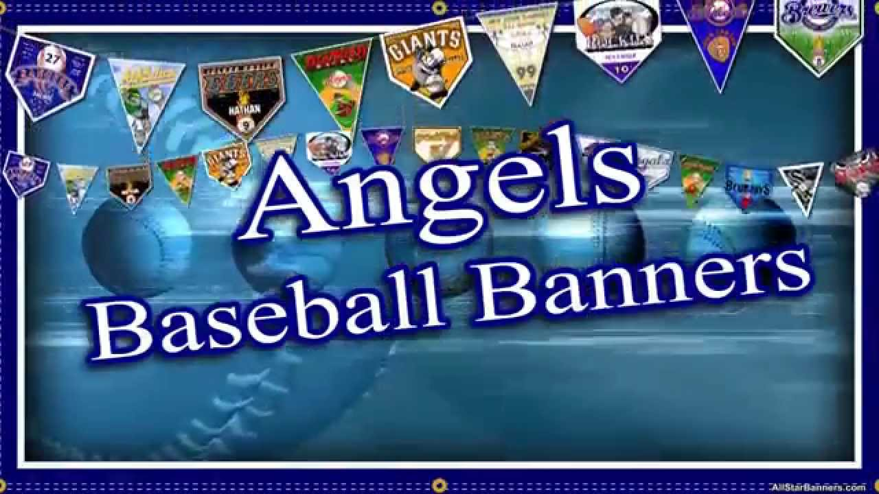 team banner ideas for angels youth baseball youtube
