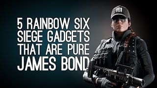 5 Rainbow Six Siege Gadgets That Are Pure James Bond (and 1 That Definitely Isn't)