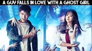 💗 Ghost Girl's Love Story | Korean Mix Hindi Songs | Akh Lad Jaave Remix | Simmering Senses 💗
