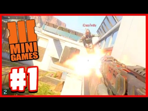 INSANE SHOTGUN JOUSTING! - Call Of Duty Black Ops 3 Mini Games #1