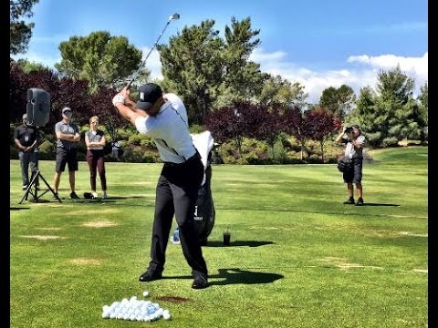 Tiger Woods Clinic 2016