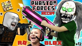 CLOWN GIGANTE + FGTEEV CLONES! ROBLOX PHANTOM FORCES #12 Re-Cut (Juego Skit)