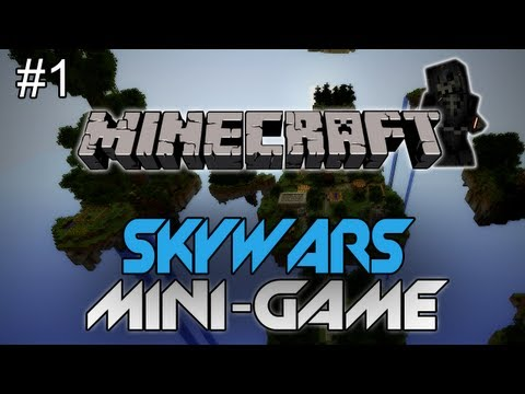 "Minecraft: Skywars #1 W/ AciDic BliTzz ""THAT WAS SHORT, LETS GO AGAIN"" (PvP Mini-Game)"