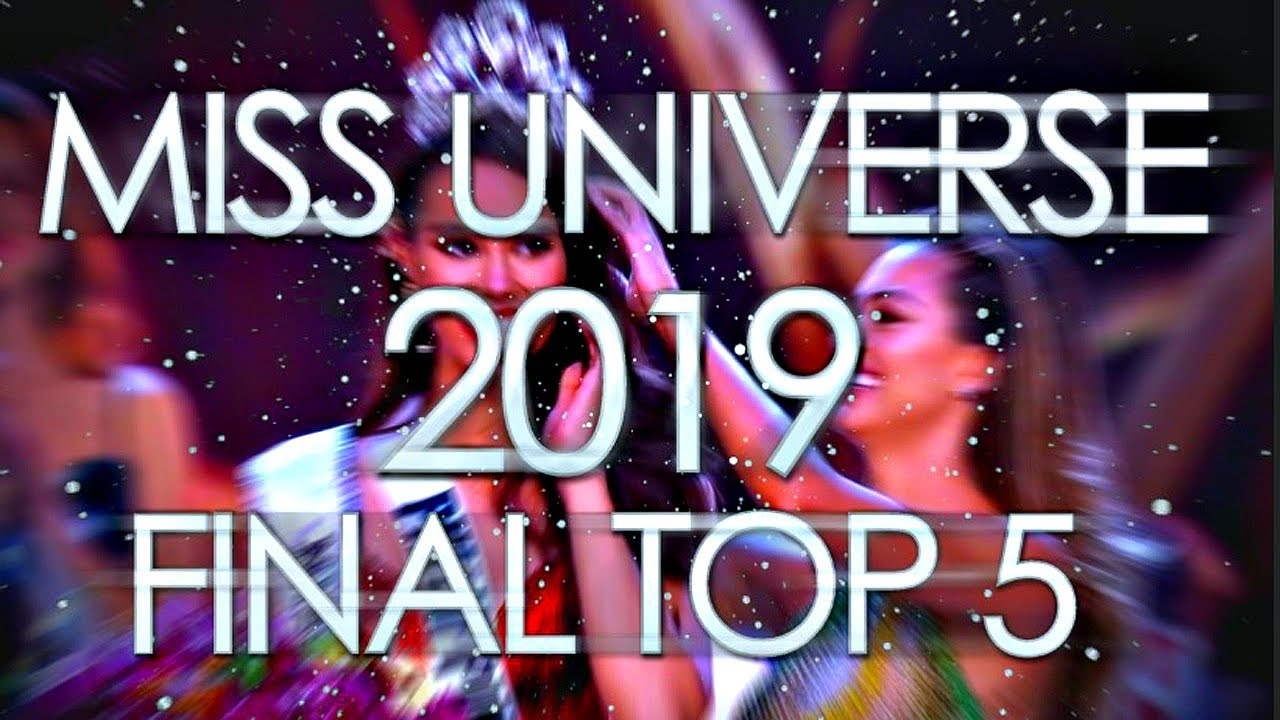 Miss Universe 2019 Top 5 December Predictions Youtube