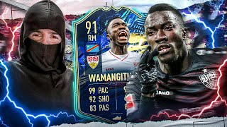 FIFA 21: THE 1 & ONLY TOTS WAMANGITUKA Mind the Gap 🤩💠🥳