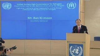 الأمم المتحدة تدعو حكومات العالم لاستضافة نحو نصف مليون لاجىء سوري في ثلاث سنين    30-3-2016