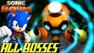 Sonic Boom Fire Ice All Bosses No Damage