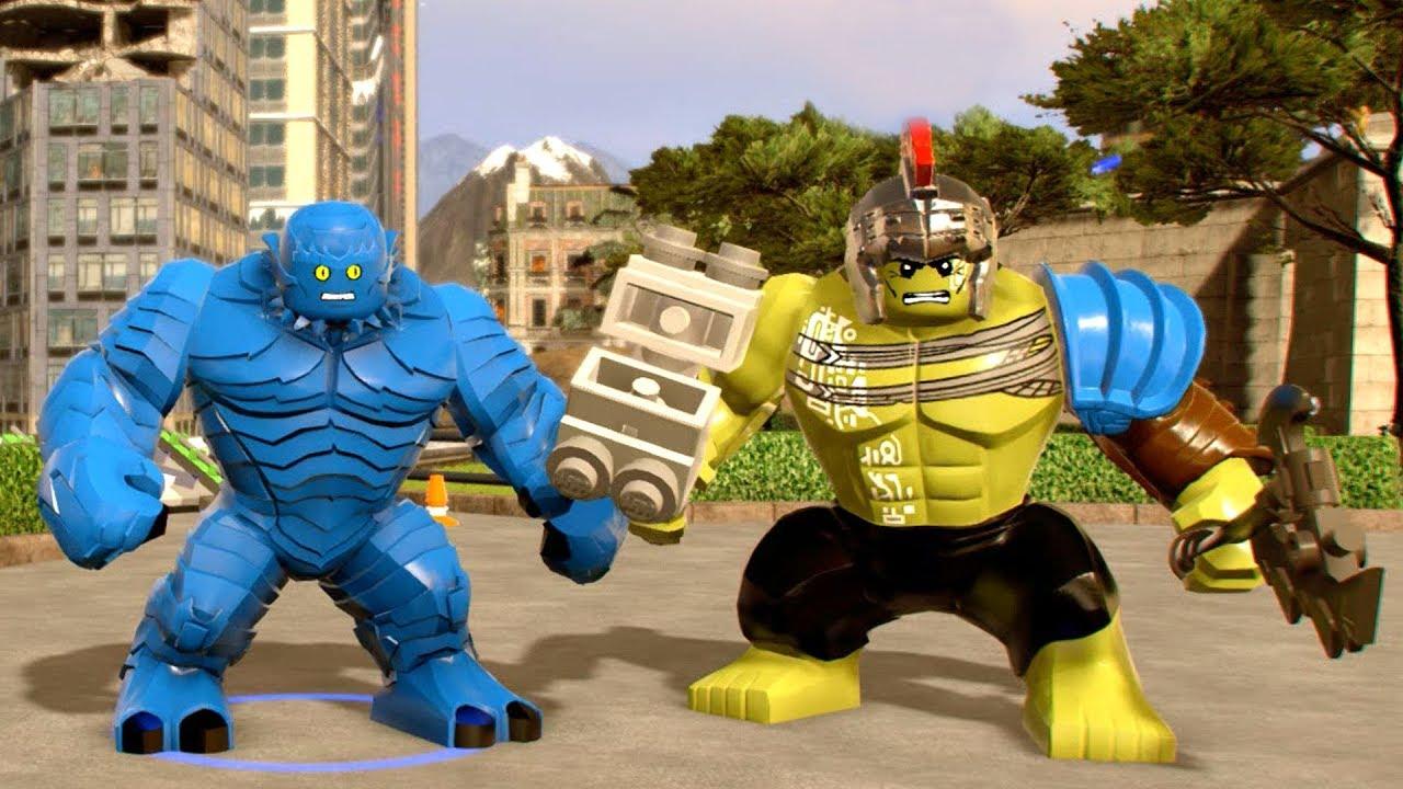 A- Bomb vs Hulk (Thor:Ragnarok) - LEGO Marvel Super Heroes 2