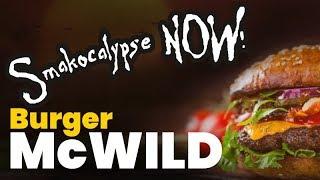 Burger McWild + chutney z cebuli - tribute to Almazan Kitchen