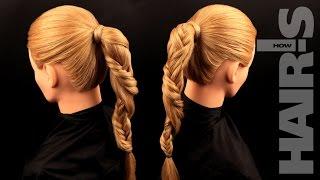 Заплетаем косу «Жгут» - видеоурок (мастер-класс) Hair's How