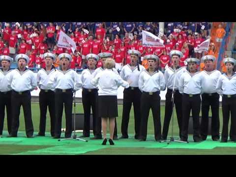 Флешмоб в поддержку Олимпийской сборной команды России