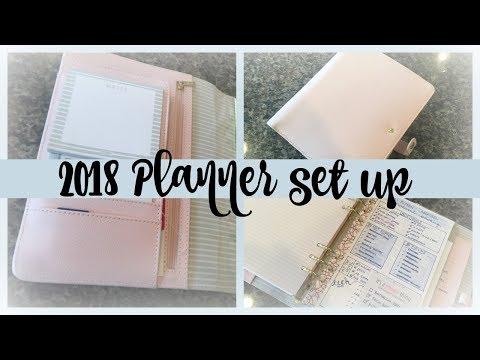 2018 PLANNER SETUP | KIKKI K & SEW MUCH CRAFTING