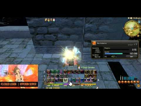 FFXIV:ARR - Random - Crafting 1 Star - Bouillabaisse HQ