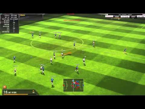 풋볼레전드 Football Legend Online 10 vs 10 Game Replay Full ver.