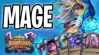 MAGE Card REVIEW | The Boomsday Project | Hearthstone
