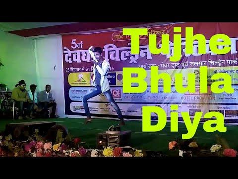 Tujhe bhula diya mix tu Jo mila  (Raghav juyal) || Lyrical || bajrangibhaijaan ||..best solo dance