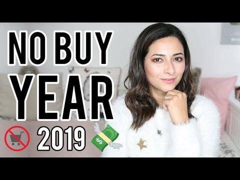 Introducing MY NO BUY YEAR 2019  THE YEAR I STOP SHOPPING  Ysis Lorenna