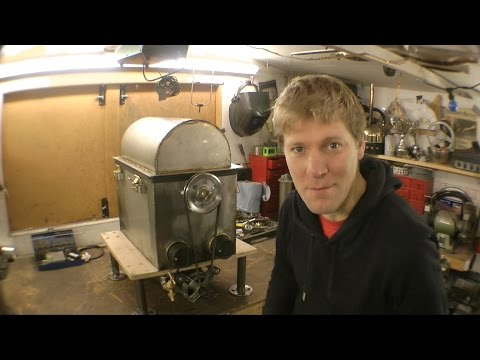 Making a Centrifugal TURKEY Cooking Machine