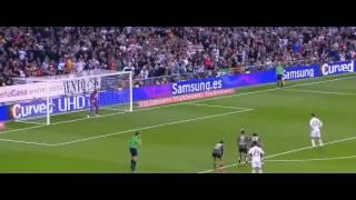 cristiano ronaldo missed penalty real madrid vs malaga 2 1 2015
