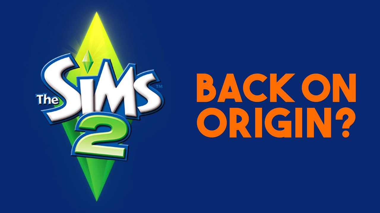 Sims 2 Ultimate Collection COULD be coming back to Origin... 🤔