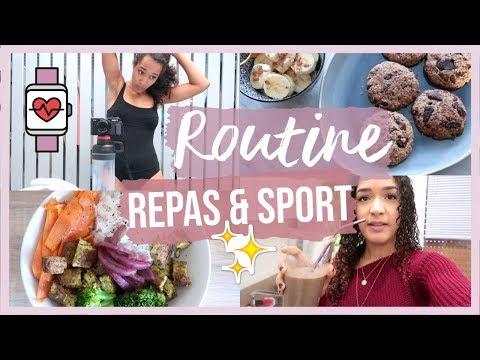 une-semaine-dans-notre-alimentation-et-sport-|-idées-repas-healthy
