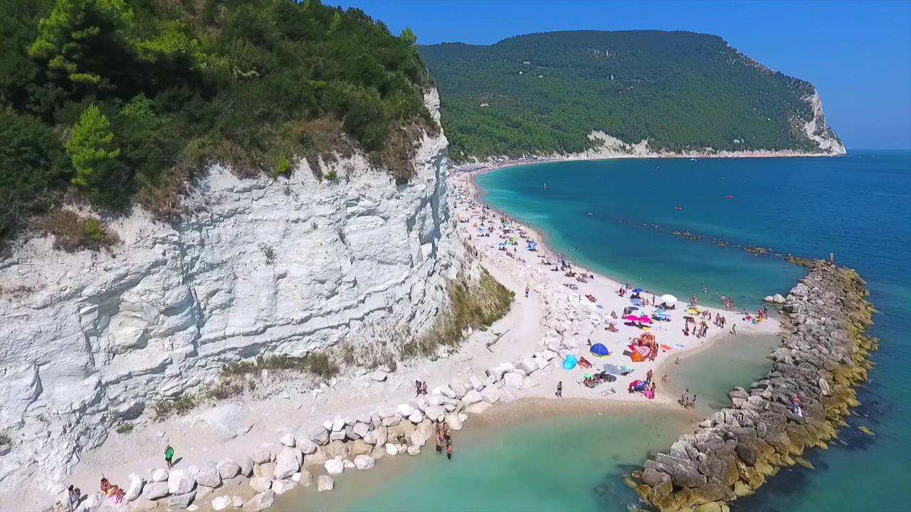 Travel video drone riviera del conero italy youtube for Be italia