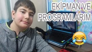 EKİPMAN VE PROGRAMLARIM Video