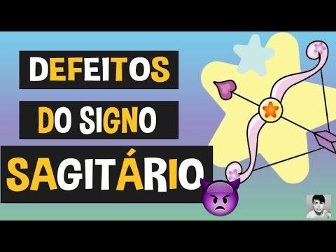 10 DEFEITOS DO SIGNO SAGITÁRIO