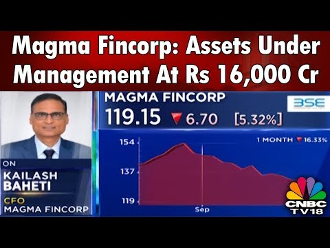 Magma Fincorp: Assets Under Management At Rs 16,000 Cr | CNBC Tv18