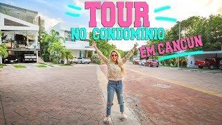 TOUR PELO NOSSO CONDOMÍNIO EM CANCÚN!! | Lorrayne Mavromatis!