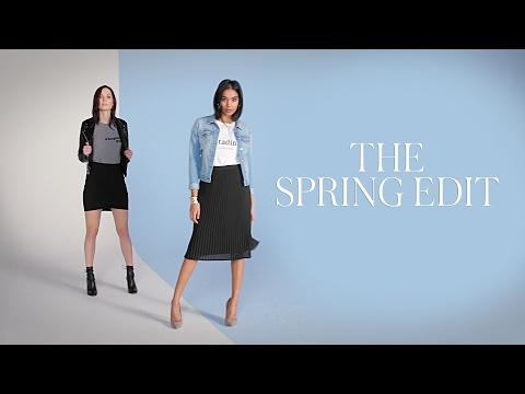 The spring edit