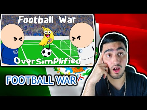 Latino Reacts To Oversimplified Football War ||