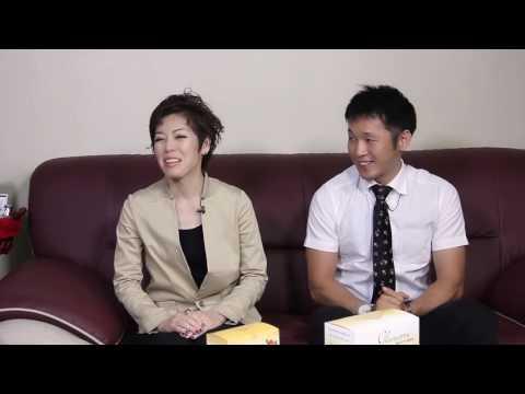 Host Ngoc Han with Facelabo Manufacturer, Japan Talkshow