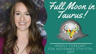 Mercury Cazimi & FULL MOON in TAURUS! Weekly Astrology Forecast for ALL 12 SIGNS!