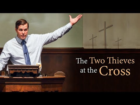 The Two Thieves at the Cross - Jesse Barrington