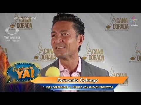 Fernando Colunga, alista su regreso   Cuéntamelo YA!