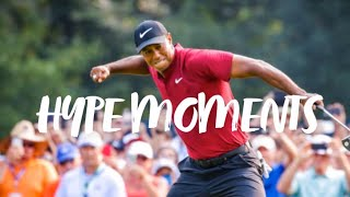 Golf's Most Hype Moments
