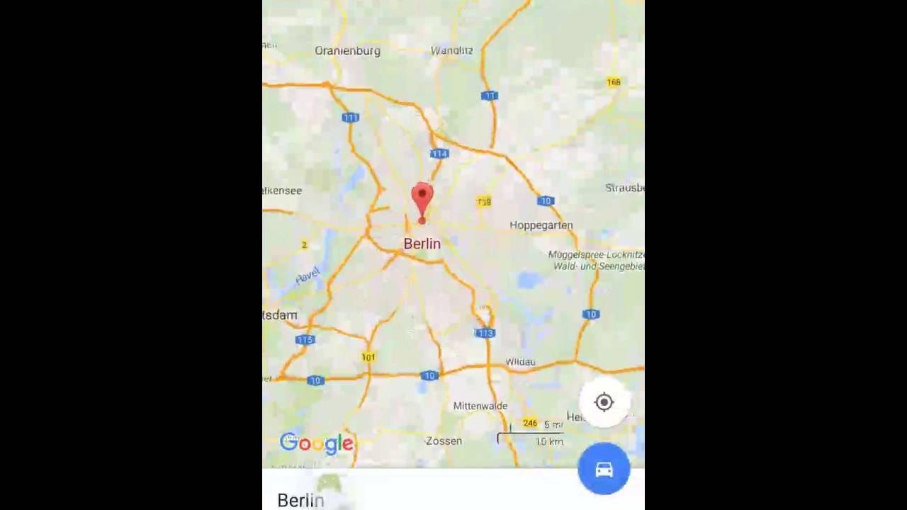 maps herunterladen